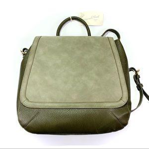 Universal Thread Olive Green Flap Backpack NWT